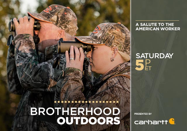 Brotherhood Outdoors: A Salute to the American Worker Presented by Carhartt