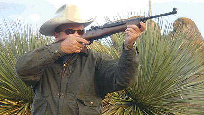 Bart Skelton Shoots the Ruger Ranch Rifle