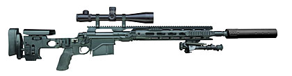 Remington 700 M24 Sniper Rifle Upgraded