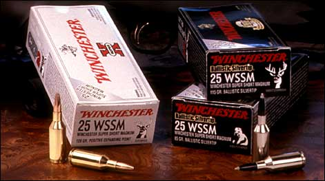 Winchester Ammo, in partnership with Winchester Firearms and Browning, introduces .25-caliber cartridges to its Super Short Magnum Line.
