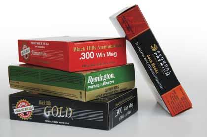 .300 Winchester Magnum Match Loads