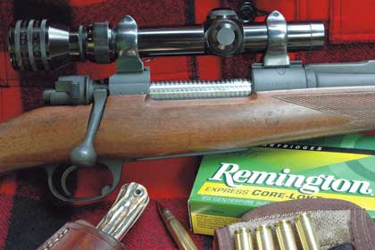 Old but capable, the .35 Whelen hangs on and may be the perfect cartridge for certain applications.