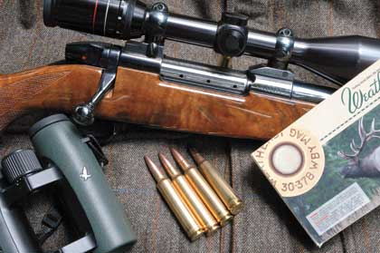 Weatherby's fire-snorting .30 caliber got its start with the U.S. military.
