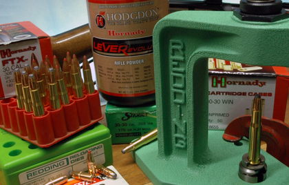 Using Hodgdon LeverEvolution powder, here are seven loads to boosts .30-30 lever-gun performance for handloaders.