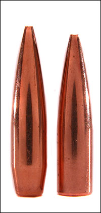 Which shoots more accurately, a flat-base bullet or a boattail bullet? The answer, and the reason, will surprise you.