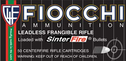 Fiocchi .223 Frangible Round