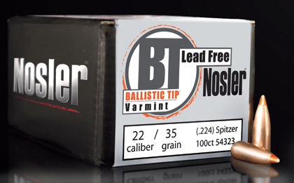 By J. Scott Rupp    The new lead-free version of the Ballistic Tip, initially offered