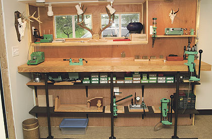 Woodworking Ideas For Beginner Share Wood Reloading Bench