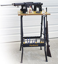 HySkore Professional Gunsmithing Bench, a workstation for gun repair and maintenance