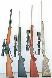 Great Deer Rifles I Have Known