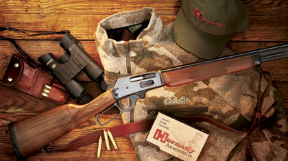 Marlin's proven 1895s get a boost from Hornady's breakthrough new bullet.
