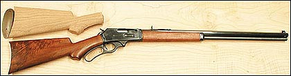 The growing popularity of the Marlin lever-action series of rifles in their