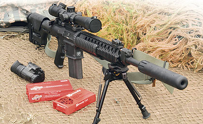 Military Terms on Ar 10 Based 7 62mm Sniper Rifle Originally Developed For Military Use
