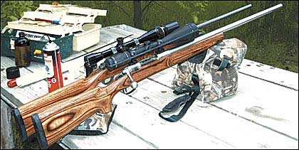 Ruger's Mark II Target and Savage's Model 12 Varmint go head-to-head.          This late 2004