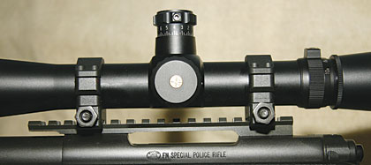 Sniping rings and bases are not only tough, but the bases are tapered so all of your scope adjustments are used to get range, not just the lower half of them.