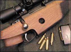 A hot new .30 and a 7mm join the ranks of beltless magnums.    Remington's answer to Winchester's