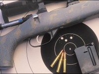 Using the handloaded Hornady 110-grain V-Max bullets, the Custom CZ Model 527 produced excellent accuracy at 100 yards.