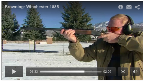 John Browning's first rifle design was the Model 1885 single shot. Join Craig Boddington at Union