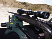 The Nikon ProStaff 4-12x40 proved to be a perfect mate for the rifle, and it's adjustments performed perfectly.