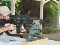 Test firing the LWRC REPR