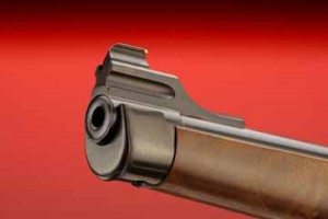 Ruger No. 1 International muzzle