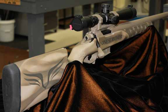 Roberts Precision Rifles Lone Survivor Foundation rifle