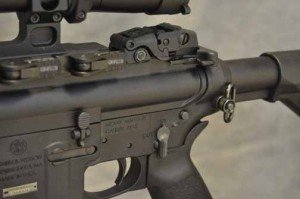 S&W M&P 15-22 MOE controls