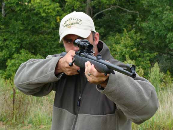 The CZ 550 Aramid Composite is a short-barreled version of the popular 550 that sports a handsome