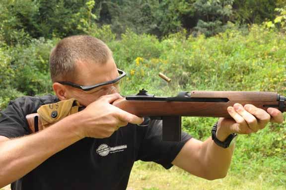 Auto-Ordnance M1 carbine firing