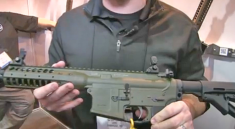 A.J. Lafferty of LWRC introduces us to the brand new IC-PSD short-barreled