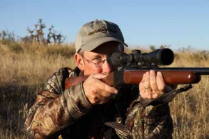 author with Ruger No. 1 in 6.5 Creedmoor
