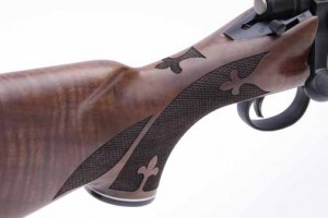 Remington 700 anniversary rifle wrist
