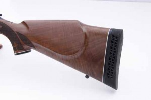 Remington 700 anniversary rifle buttstock