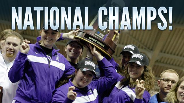 First off, congratulations to Texas Christian University, this year's NCAA rifle champions. The