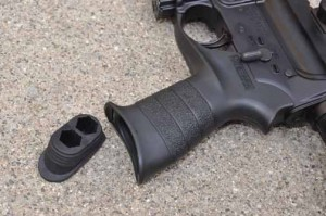 Mossberg MMR Tactical grip compartment