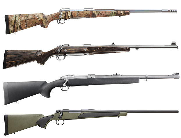 Four Great Bear Rifles