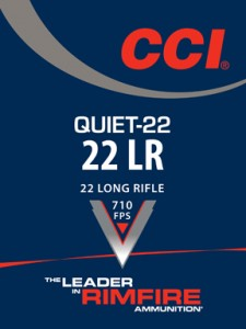 CCI Quiet 22 packaging