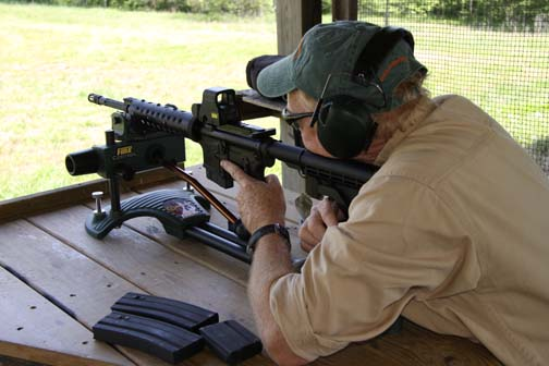 1115We shot some excellent rifles from LMT—including an excellent session with a .300 Blackout in