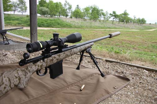 We're back at PASA Park in Barry, IL, to get a bird's-eye view of great new rifles. And unlike