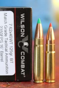 7.62x40 and .300 Whisper cartridges