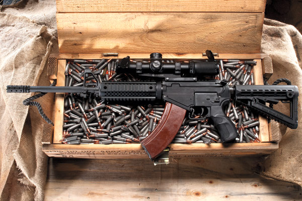 If you're as fanatical about ARs and AKs as I am, you're probably sitting there physically