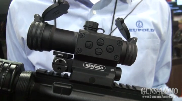 Redfield introduced its brand new Redfield Counterstrike red-dot sight during the 2013 SHOT Show in