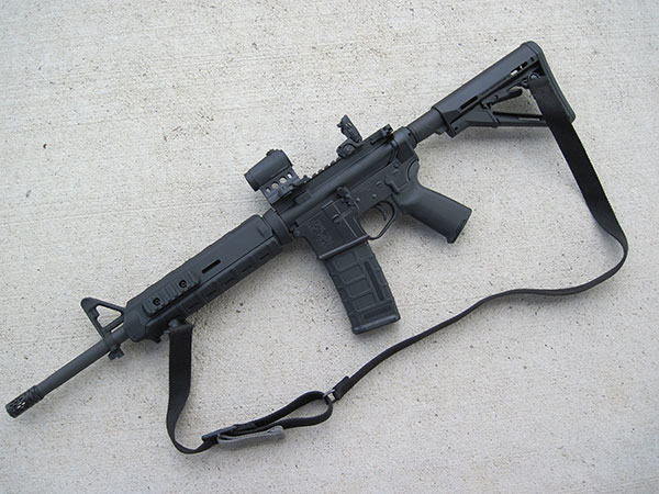The last time I counted, there were 93 companies making AR-15s in the United States. If you look