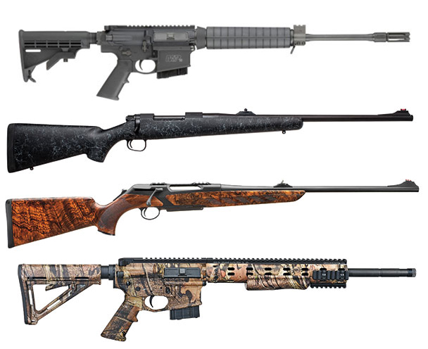 There are several intriguing caliber additions, both from overseas outfits and U.S. companies; here's a lineup of the best hunting rifles for 2013.