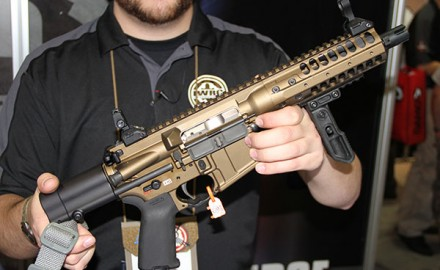 Announced at the 2014 SHOT Show, the LWRC IC PDW carbine represents the newest wave in smaller,