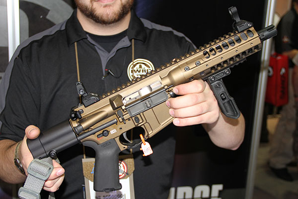 Announced at the 2014 SHOT Show, the LWRC IC PDW carbine represents ...
