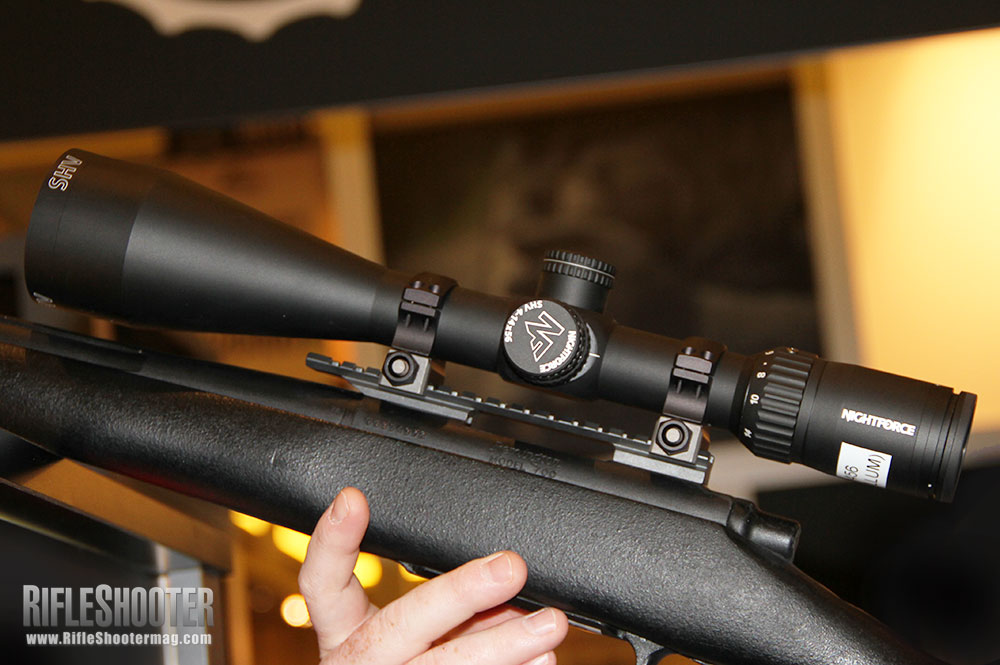 First Look: Nightforce SHV 4-14x56mm Rifle Scope