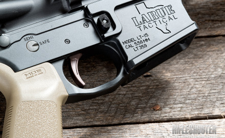 The MBT-2S AR-15 trigger is compatible with any standard AR-15 platform as a drop-in upgrade