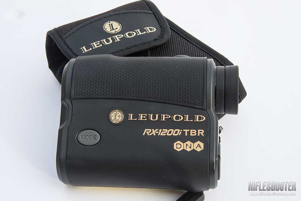 Leupold's Latest: The RX-1200i TBR DNA Rangefinder