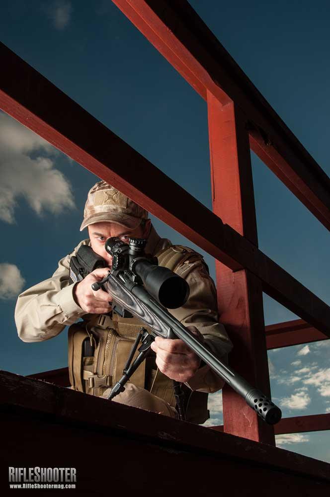 Steep Rifle Shooting